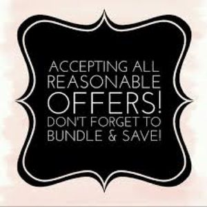 Offers & Bundles Welcome 😊